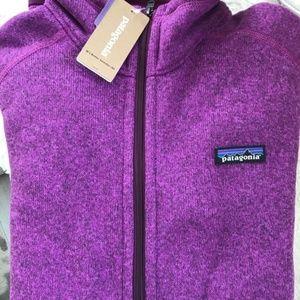 Patagonia better sweater Jacket full zip NWT